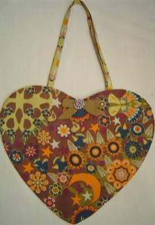 Curry Flower Cotton Print Tote