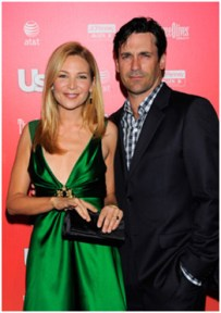 Jennifer Westfeldt wearing Martin Katz jewelry