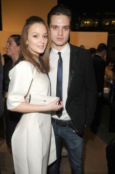 Leighton Meester and Sebastian Stan