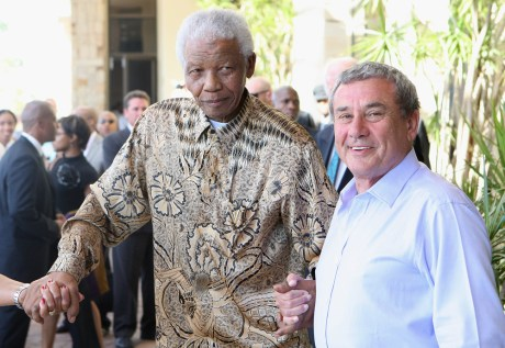 Nelson Mandela and Sol Kerzner