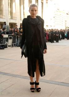 Dree Hemmingway in Calvin Klein
