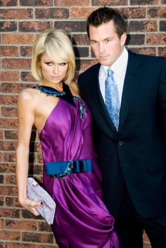 Paris Hilton and Doug Reinhardt at the 2009 FiFi Awards