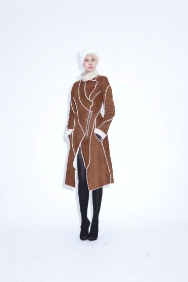 Coat Taiga Sheep skin