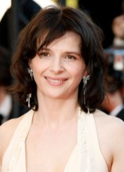 Juliette Binoche wearing Cartier Jewelry
