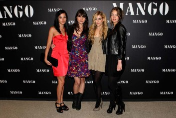 Leigh Lezark, Daisy Lowe, Riley Keough and Marie Ange Casta
