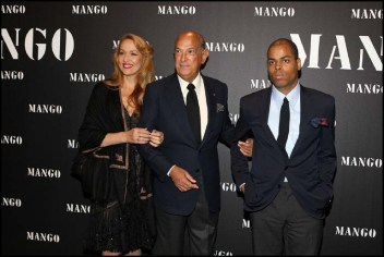 Jerry Hall, Oscar De La Renta and Moises De La Renta