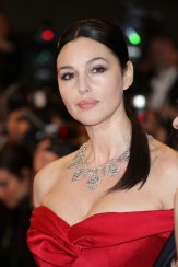 Monica Bellucci in Cartier Jewelry