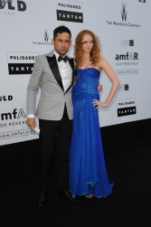 Lily Cole and Enrique Marciano