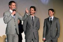 Chris Pine; Eric Bana; Karl Urban