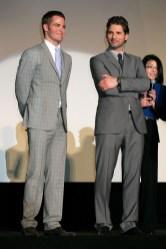 Chris Pine; Eric Bana