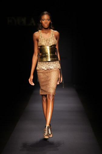 Eyola at the Arise Africa Fashion Week 2009