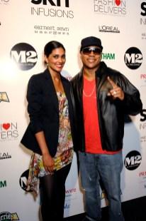 LL Cool J and fashion designer Rachel Roy