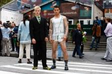 Man in a Transparent Suit