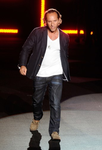 Designer Custo Barcelona on the runway