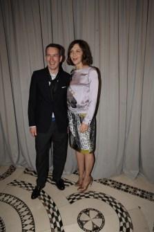 Dries Van Noten and Maggie Gyllenhaal