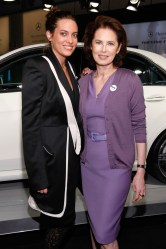 Gillian Sang and Dayle Haddon