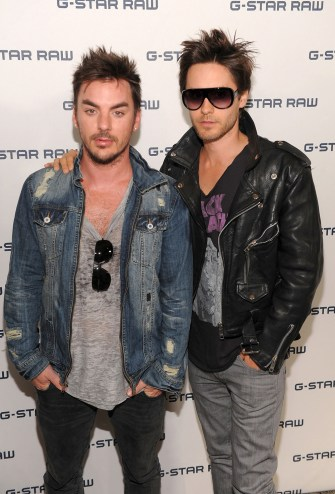 Shannon Leto and Jared Leto