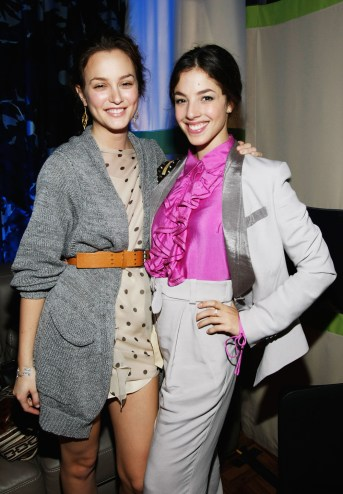 Leighton Meester and Olivia Thirlby