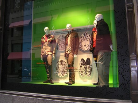 Saks Fifth Avenue Store Window