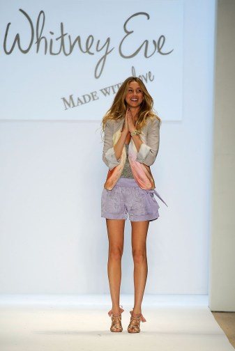 Whitney Port on the runway