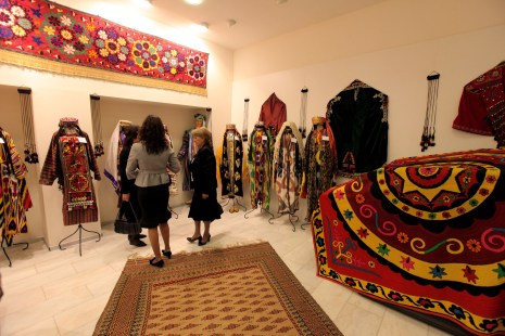 A carpets and fabrics shop in The Center of National Arts