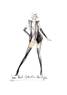 Jean Paul Gaultier for Kylie Minogue - black jacket