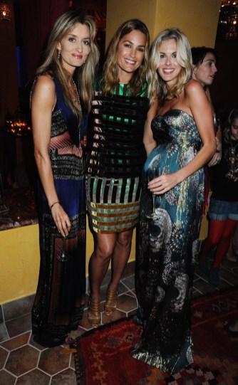 Natascha Mc Elhone; Yasmin Le Bon; Donna Air
