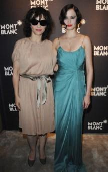 Juliette Binoche (L) and Eva Green