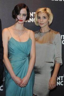 Eva Green (L) and Clotilde Courau
