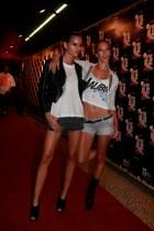 Alessandra Ambrosio and Izabel Goulart