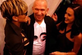 Rihanna, Jean Paul Gaultier, Katy Perry