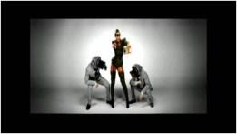 Beyonce wearing Jean Paul Gaultier in Video Phone