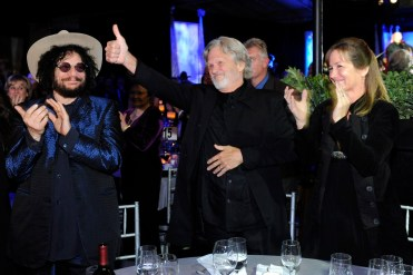 Don Was, Kris Kristofferson, and Lisa Kristofferson