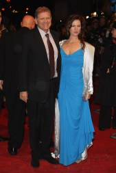 Robert Zemeckis and wife, Leslie