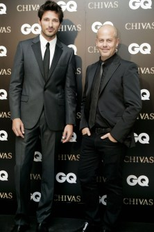 Italo Zucchelli and Andrés Velencoso