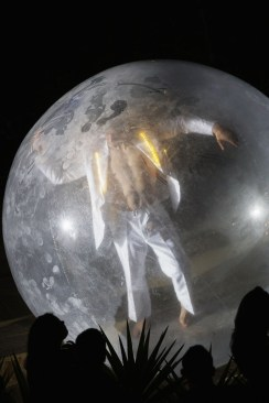 Dancer in a Bubble