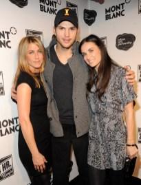 Jennifer Aniston; Ashton Kutcher; Demi Moore