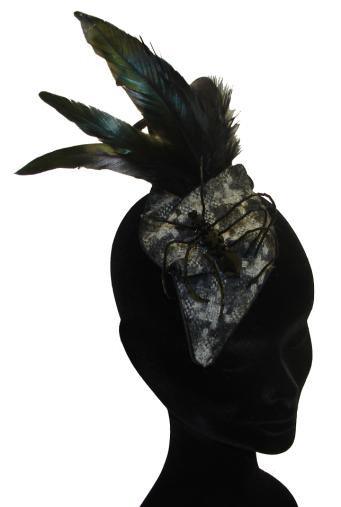 Grey Hounds Tooth Head Piece