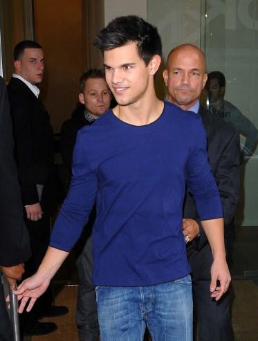 Taylor Lautner in Calvin Klein Collection