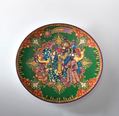 2009 Versace Christmas Plate