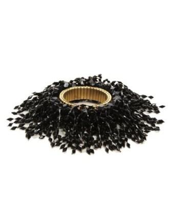 Strech gilt metal bracelet