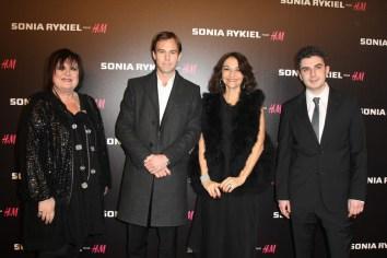 Margareta van den Bosch, Karl-Johan Persson, Nathalie rykiel and Thomas Lourenco
