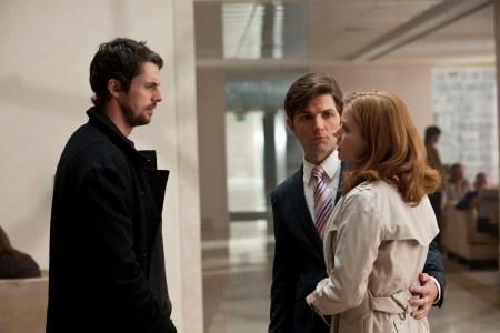 Declan (MATTHEW GOODE) says goodbye to Jeremy (ADAM SCOTT) and Jeremy's girlfriend, Anna (AMY ADAMS)
