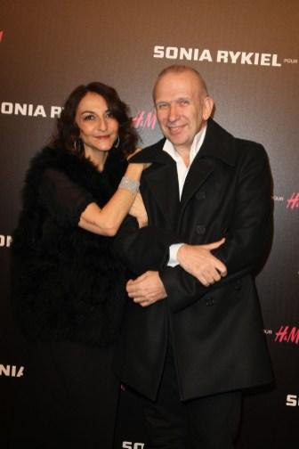 Nathalie Rykiel and Jean Paul Gaultier