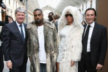 Yves Carcelle, Kanye West, Amber Rose, Pietro Beccari