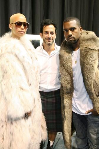 Amber Rose, Marc Jacobs, Kanye West