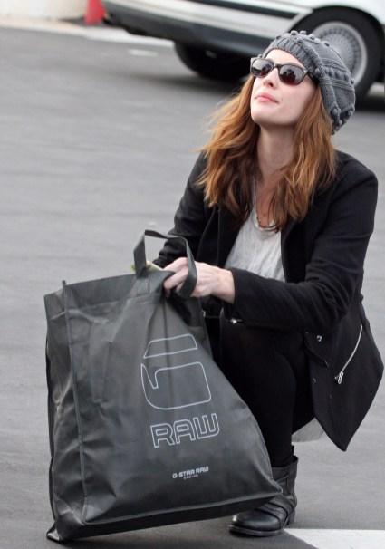 Liv Tyler shops at G-Starr