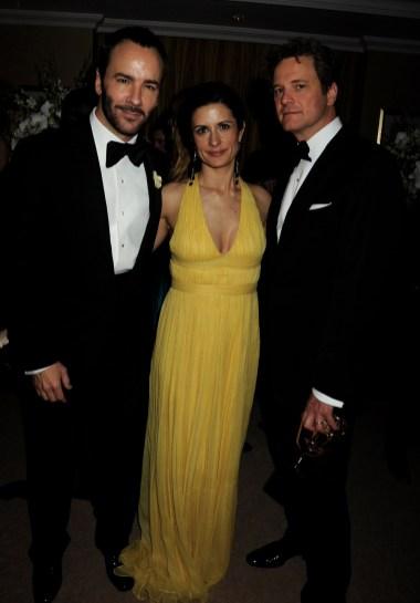 Tom Ford; Livia Giuggioli; Colin Firth