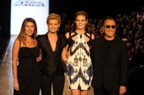 Nina Garcia; Faith Hill; Heidi Klum; Michael Kors