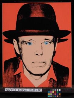 Andy Warhol - Portrait of Joseph Beuys